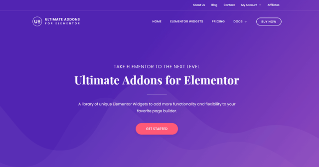 Blog With Elementor